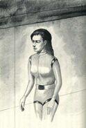 Visser One aboard the Pool Ship The Predator Japanese Illustration