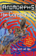 Animorphs 31 the conspiracy UK cover