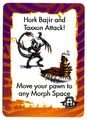 Hork Bajir taxxon card animorphs invasion game