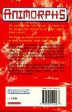 Animorphs 11 the forgotten UK back cover 1998 edition