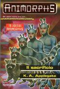 Animorphs 52 the sacrifice Il Sacrificio Italian cover