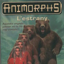 Animorphs 7 the stranger L estrany catalan cover.JPG