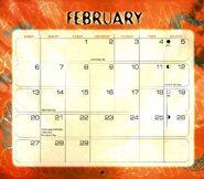 3 2000 calendar February month