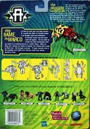Transformers marco beetle scarabee on card back