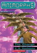 Animorphs 13 the change ebook cover