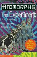 Animorphs 28 experiment UK cover