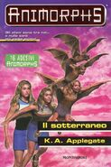 Animorphs 17 The Underground Il sotterraneo italian cover