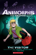 The Visitor Animorphs Graphic Novel cover