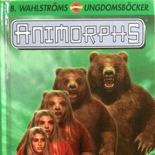 Animorphs 7 the stranger eliministern swedish cover.jpg