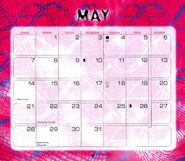 6 2000 calendar May month