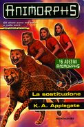 Animorphs 37 the weakness la sostituzione italian cover