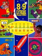 1999 Nickelodeon primetime shows print ad NickMag Sept 1999