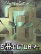 Animorphs Sanctuary color logo poster