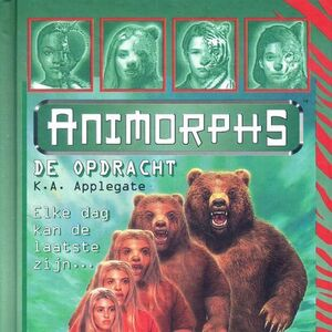 Animorphs 7 the stranger De Opdracht Dutch cover.jpg