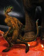 Hork bajir from animorphs 42 journey inside cover
