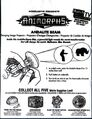 Animorphs taco bell 1998 andalite beam toy bag front