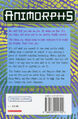 Animorphs 20 the discovery UK back cover