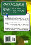 Animorphs 38 the arrival back cover