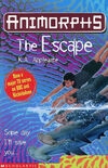 Animorphs 15 the escape UK cover later