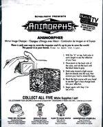 Animorphs taco bell 1998 animorpher mirror image changer bag
