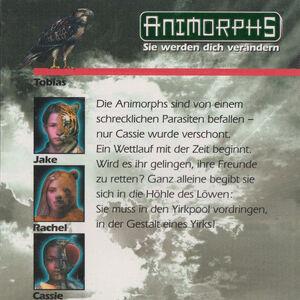 Animorphs 29 the sickness Der Parasit back cover.jpg