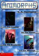Animorphs boxed set 1-4 inside cover side