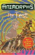 Animorphs 43 the test UK cover