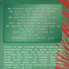 Animorphs 7 the stranger De opdracht dutch back cover.jpg
