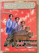 Animorphs 11 the forgotten o esquecido brazilian cover
