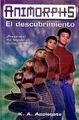 Animorphs 20 the discovery El descubrimiento spanish cover Ediciones B