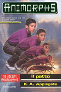 Animorphs 30 the reunion Il patto italian front cover