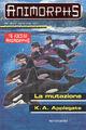 Animorphs 36 the mutation La mutazione italian cover