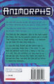 Animorphs 27 the exposed UK back cover
