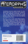 Megamorphs 1 andalites gift UK back cover