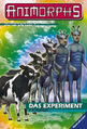 Animorphs 28 experiment german cover