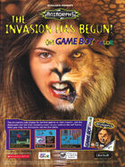 Animorphs gameboy color advertisement gamepro dec 2000