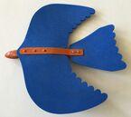 Tobias hawk glider top view animorphs kfc toy