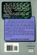 Animorphs alternamorphs 2 back cover