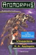 Animorphs 3 the encounter L incontro italian cover