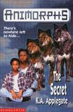 Animorphs the secret book 9 uk cover