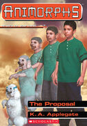 Animorphs proposal book 35 cover