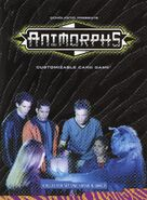 Animorphs customizable card game Set one Cassie Jake Instructions front