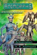 Animorphs 38 the arrival Ankomsten Norwegian cover