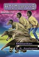 Animorphs 24 the suspicion Mistanken Norwegian cover