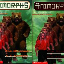 Animorphs book 7 the stranger 2 covers earlier and later printing.jpg