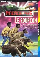 Animorphs 24 the suspicion le soupcon french cover