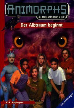 Alternamorphs 1 and 2 german front cover der albtraum beginnt first journey.jpg