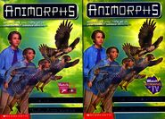 Animorphs 31 the conspiracy 2 covers american and canadian watch tv logos