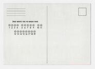 Animorphs book 31 conspiracy postcard back