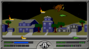 Hawk rescue Level 2 scene with yeerks and taxxons